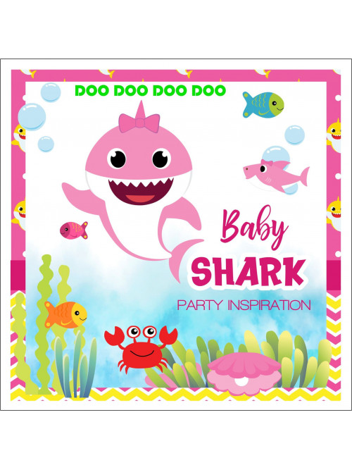 BABY SHARK FIESTA TEMATICA...