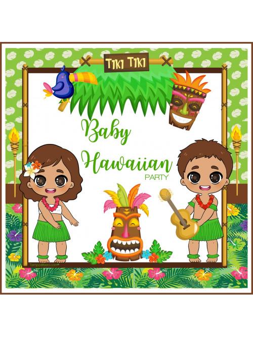 FIESTA BABY HAWAI TEMÁTICA