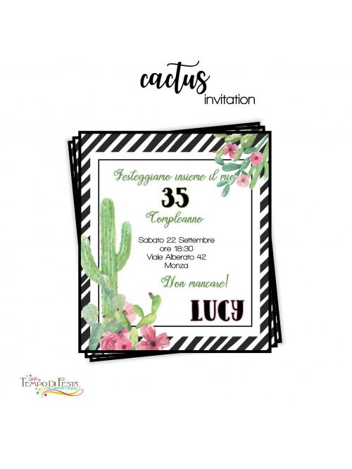 CACTUS INVITACIONES