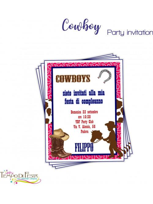 COWBOY INVITI
