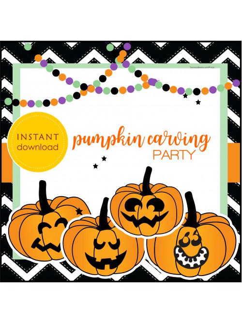 PUMPKIN CARVING PARTY...