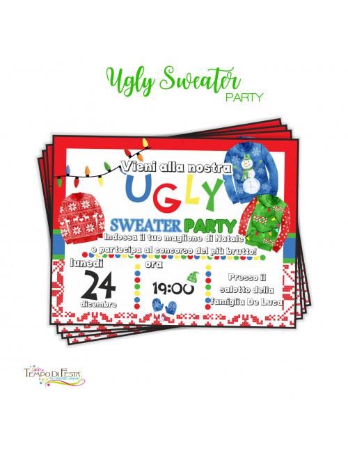 UGLY SWEATER INVITI