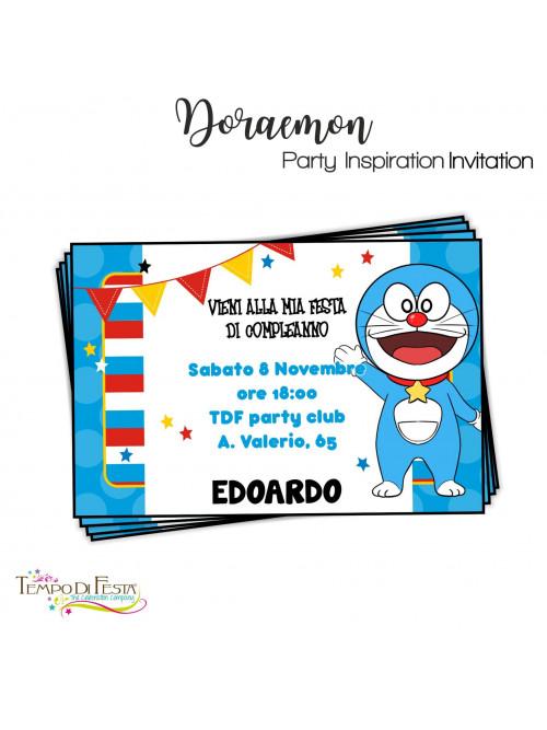 DORAEMON INVITACIONES