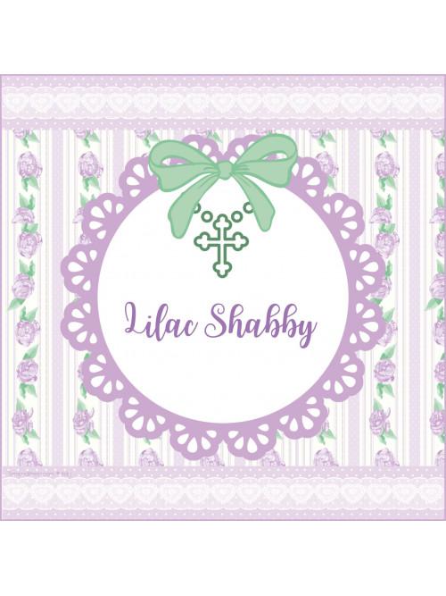 SHABBY LILA PERSONALIZADA
