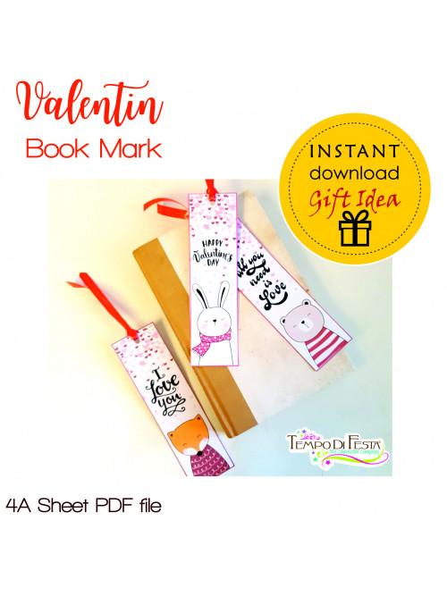 VALENTINE BOOKMARK INSTANT...