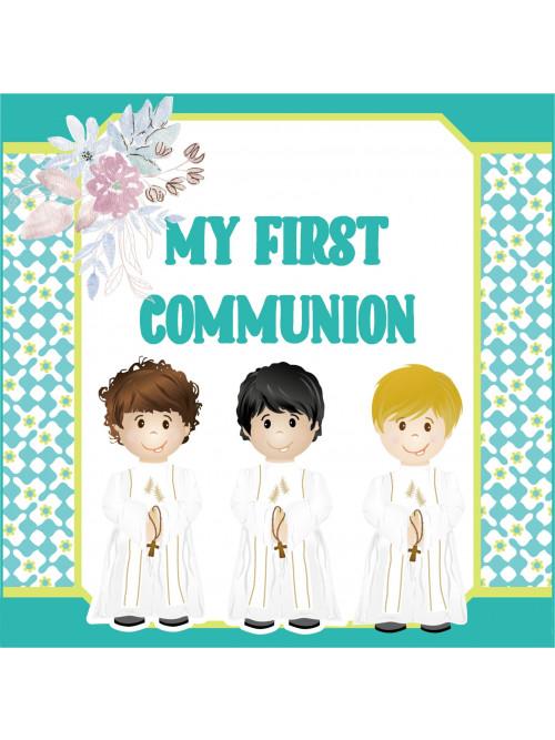 MI PRIMERA COMUNION FIESTA...