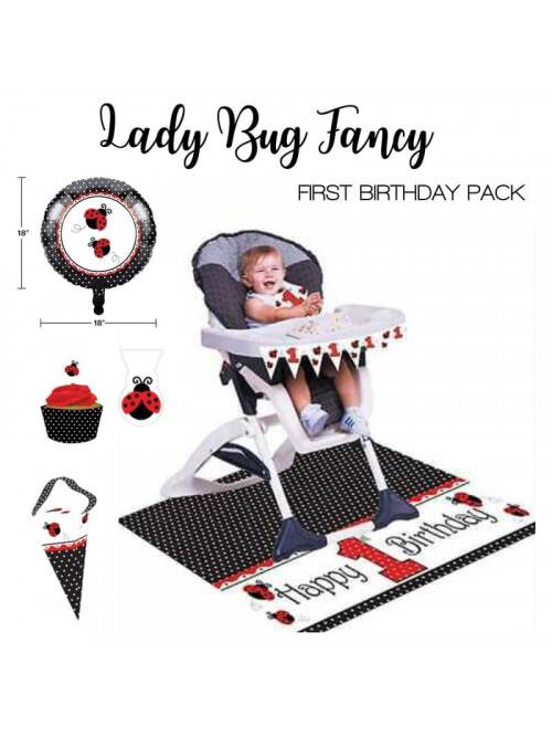 kit para decorar la silla periquera  primer cumpleaños