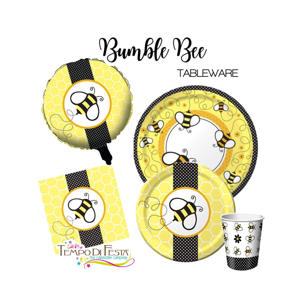 Bumble Bee table set