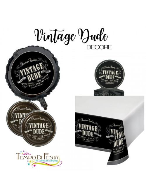 Decorazione per il tavolo uomo Vintage