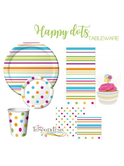 Happy Dots coordinato per il tavolo