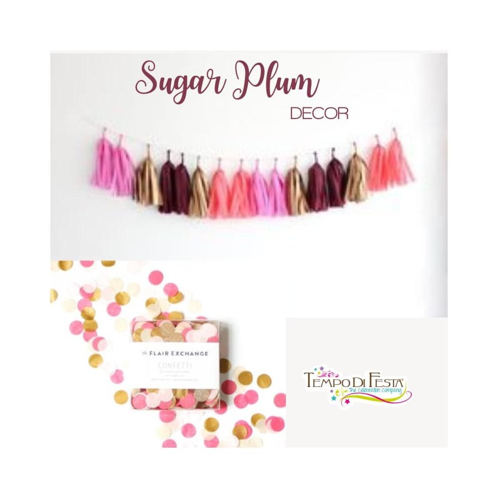 Sugar Plum party Decoration