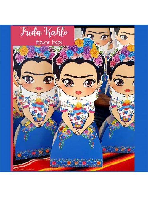 Frida Kahlo scatola porta caramelle
