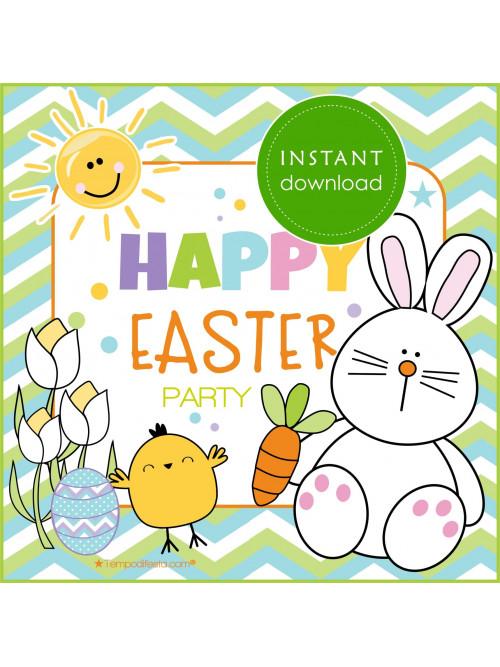 Festa a tema Felice Pasqua