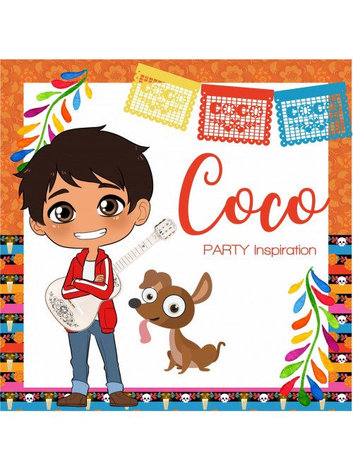 COCO NIÑO MEXICANO FIESTA...