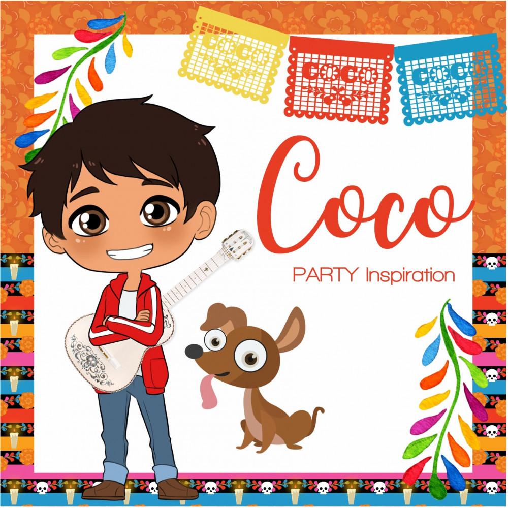 kit di festa a tema coco