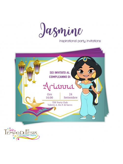 Jasmine invitacion personalizada