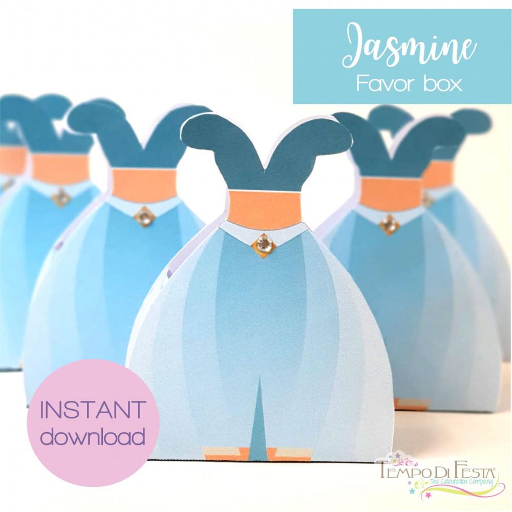 Jasmine cajita de dulces