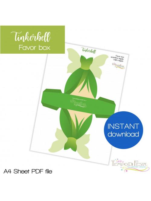 Tinkerbell favor box