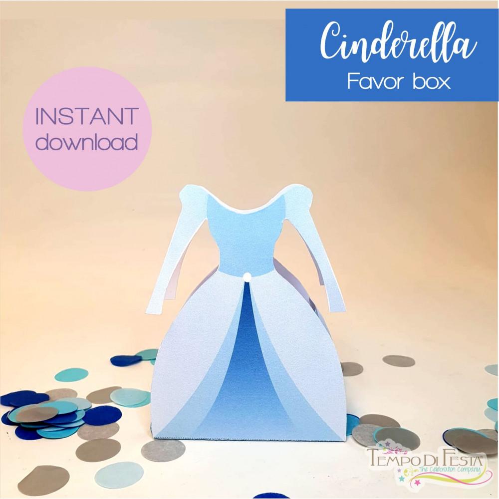 Cinderella favor box