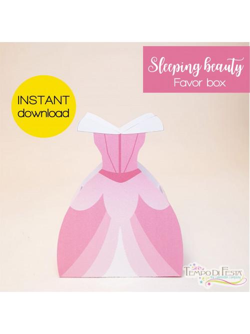 Sleeping beauty favor box