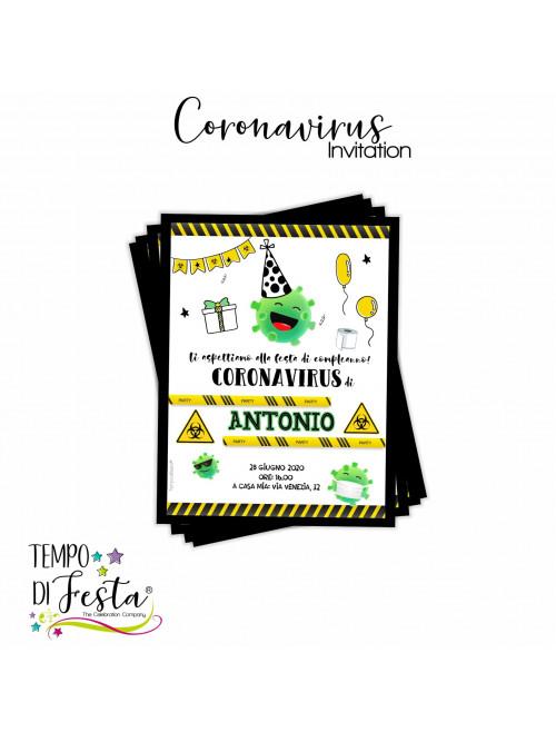 Coronavirus inviti personalizzati