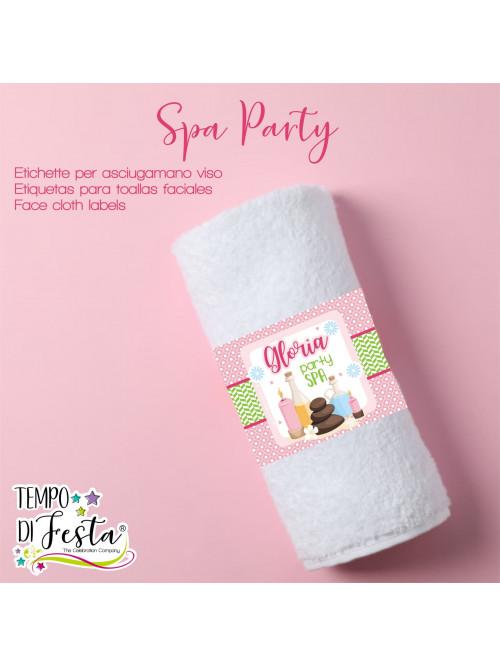 Etichetta per asciugamano...