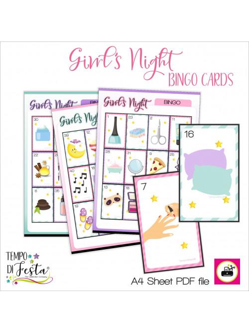 Noche de chicas bingo SPA y...