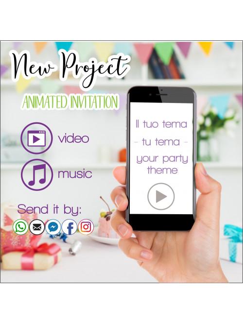 VIDEO INVITACION ANIMADA...