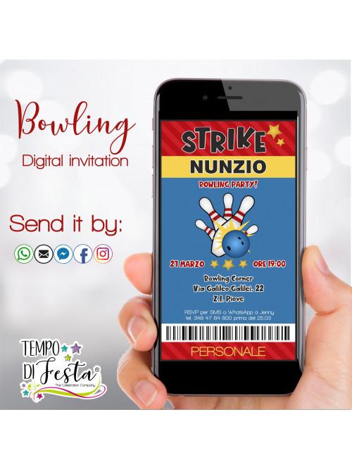 Bowling Digital invitation...