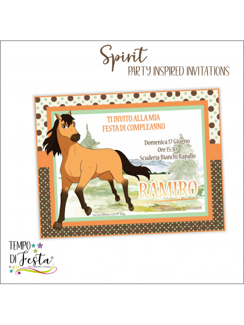 Inviti ispirati a Spirit