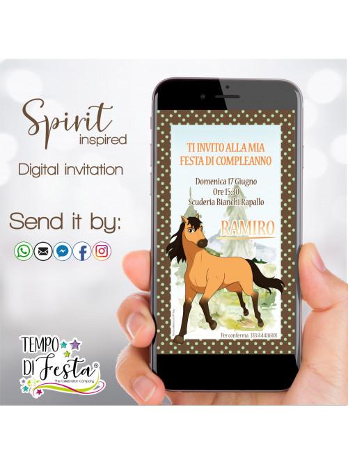 Inviti digitali ispirati a...
