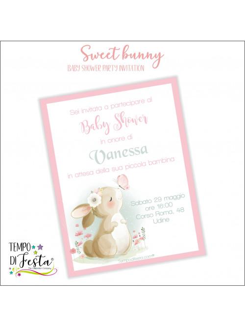 Sweet bunny themed...
