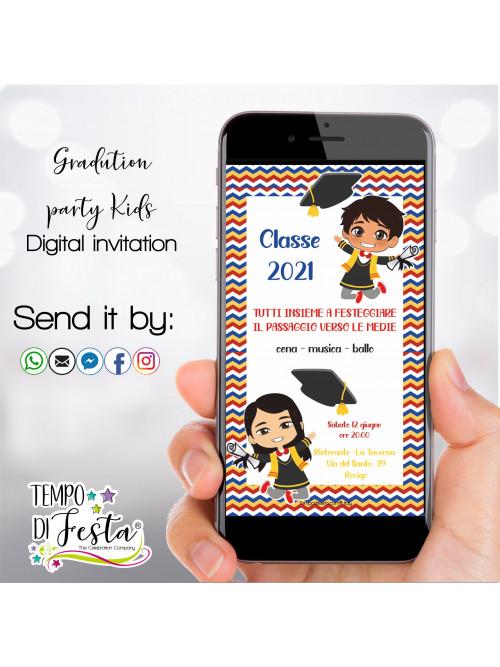 graduation kids digital...