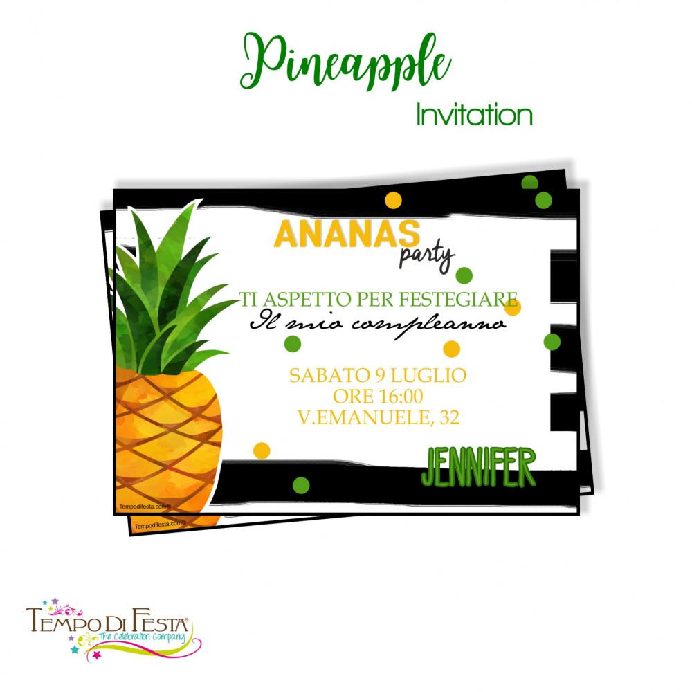 inviti a tema ananas