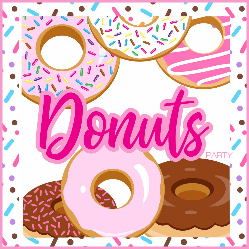 DONUTS PARTY PRINTABLE
