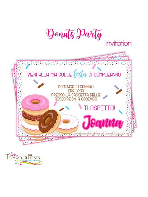 DONAS INVITACIONES...