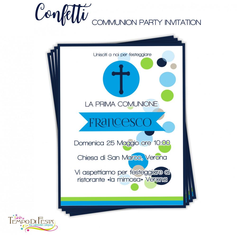 INVITI COMUNIONE STAMPABILI