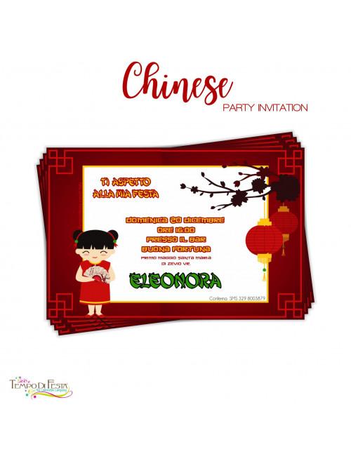 CHINA INVITACIONES...