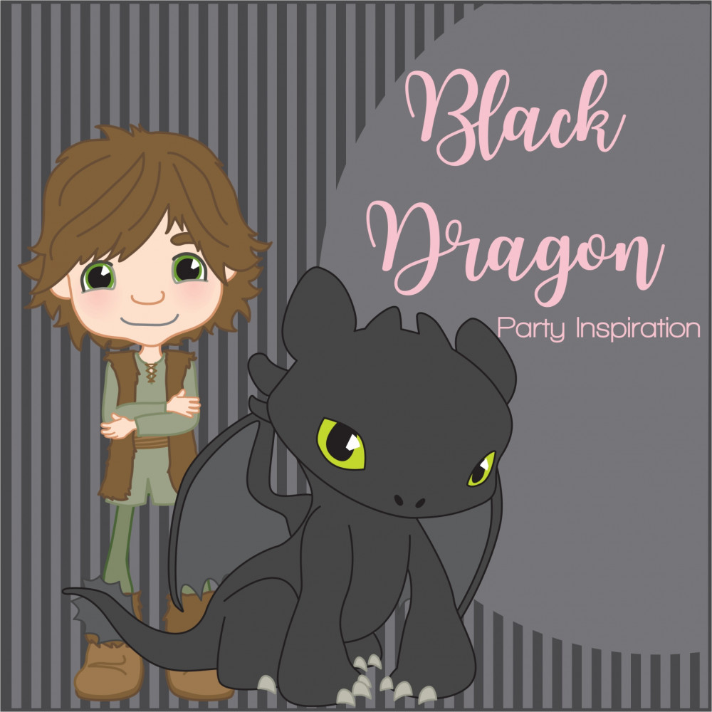TRAIN YOUR DRAGON PARTY THEME