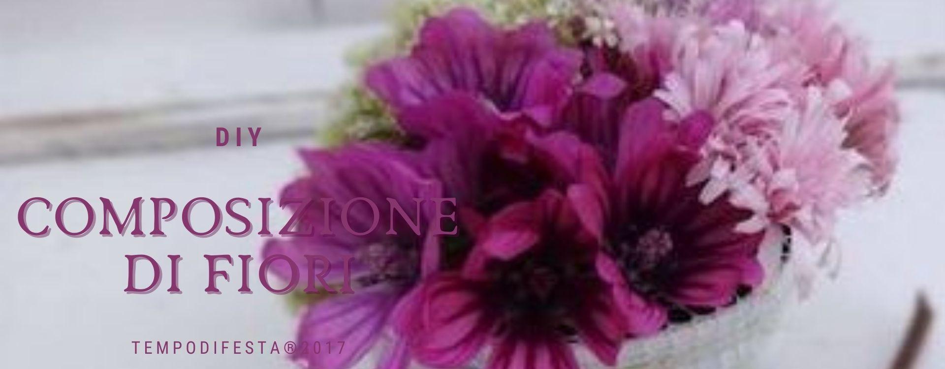 Come creare una composizione di fiori su base grande 30/03 ...
