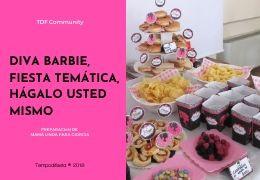 Diva barbie fiesta temática, hágalo usted mismo 27/04/2018