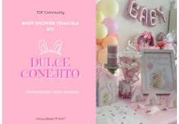 Baby shower temática dulce conejito DIY  25/05/2021