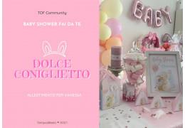DIY Sweet bunny themed baby shower 2021/05/25