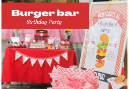 Burger Bar Party, fiesta de cumpleaños 05/08/2021