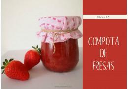 Receta para la compota de fresas  04/06/2020