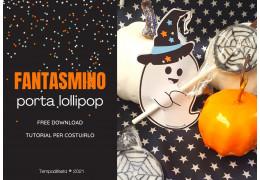 Free download Fantasmino stampabile porta lollipop 12/10/2021