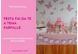 Festa fai da te a tema Farfalle 02/02/2018