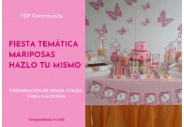 Fiesta temática Mariposas 02/02/2018