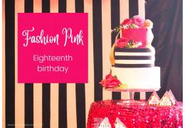 18 years Fashion Pink 2021/08/20