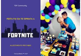 Festa fai da te ispirata a Fortnite 15/06/2021